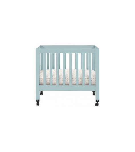 babyletto mini crib reviews babyletto origami mini crib in lagoon