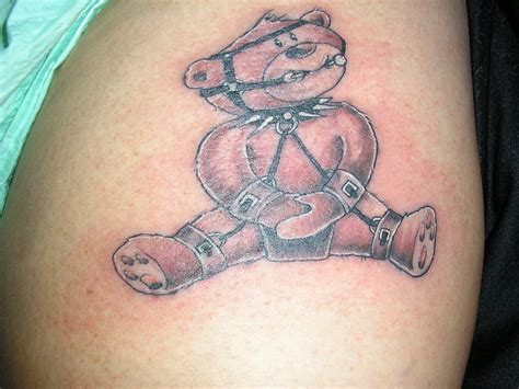 bondage tattoos 25 teddy designs ideas design trends