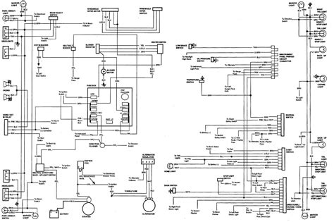 chevelle electrical wiring diagram wiring diagram