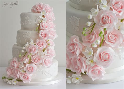 Hochzeitstorte Pink by Pretty Pink Wedding Cakes