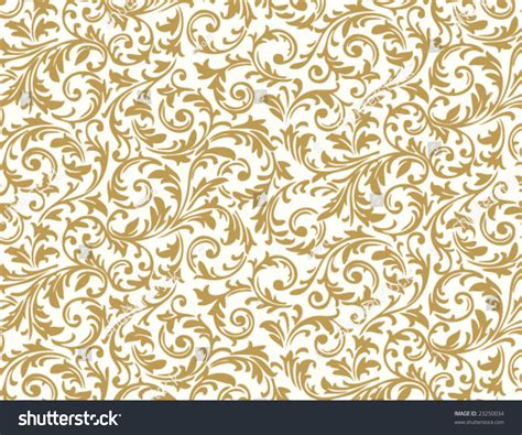 shutterstock pattern seamless floral pattern stock vector illustration 23250034