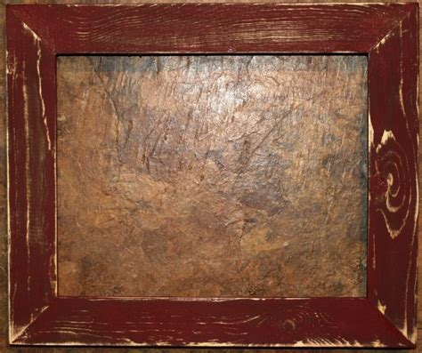 X Maroon 1 8 1 2 x 11 1 1 2 quot maroon distressed picture frame