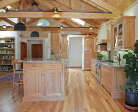 Kitchen With Light Oak Cabinets by Light Oak Kitchen Cabinets Kitchen Beach With Bar Stools