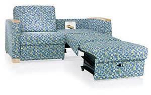 Hospital Sleeper Sofa Conversion That S Easy As Pie Three Lounge Sleeper By Ki Healthcare 3rings