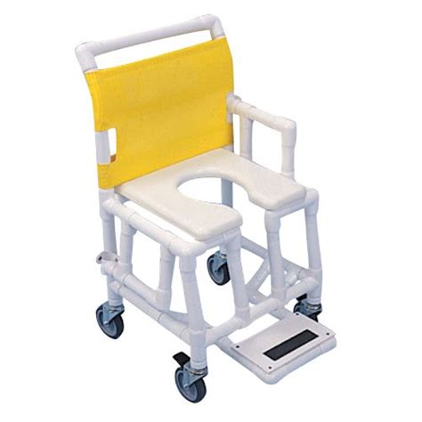 Drop Arm Commode Chair by Buy Healthline Drop Arm Shower Commode Chair At Indemedical