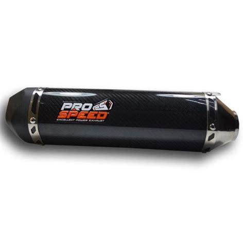 Knalpot Prospeed Black Series 250fiz250 System prospeed muffler black carbon series system new honda