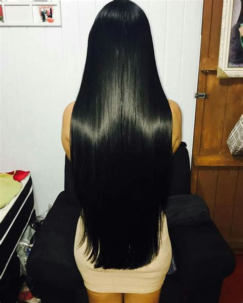photos of lovely dark black long silky hairs of indian chinese girls in braided pony styles long hair cabelos amoooo pinterest black hair hair