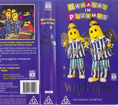 Pp Banana Ie bananas in pyjamas wish fairies vhs pal a find