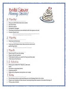 Bridal Shower Check List Bridal Shower Checklist Pdf Acrobat Always The