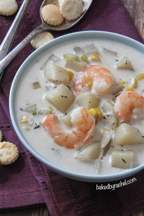 Shrimp And Corn Chowder by Cooker Shrimp And Corn Chowder Baked By