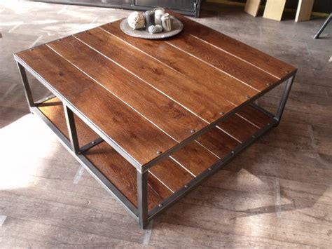 table basse metal pas cher design en image