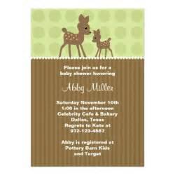 woodland deer baby shower invitations 5 quot x 7 quot invitation card zazzle