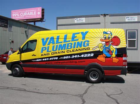 Valley Plumbing by Vehicle Wraps Gallery Car Wraps In Salt Lake City Utah