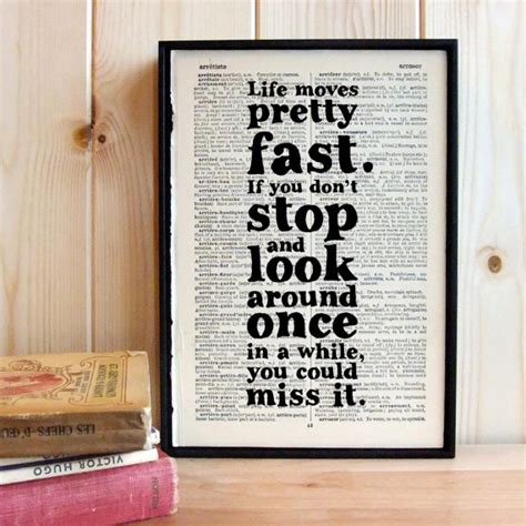 domino s life moves fast video creativity online inspirational quote life moves pretty fast ferris by