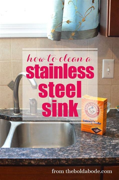 How Do You Clean A Stainless Steel Kitchen Sink by The Best Way To Clean A Stainless Steel Sink Home And Garden