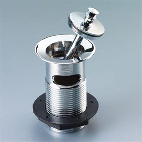 macdee captive metal plug chrome plated basin waste