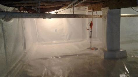 itg basement systems crawl space repair before and after