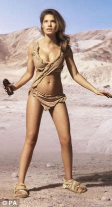 Bikini Cavegirl carly the cavegirl steals raquel welch s prehistoric bikini daily mail online