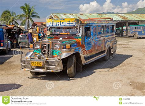 philippines bus philippines jeepney bus editorial image image of
