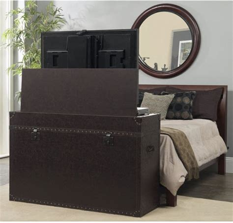 Footboard Tv Lift by Beds With Tv In Footboard Images Frompo 1