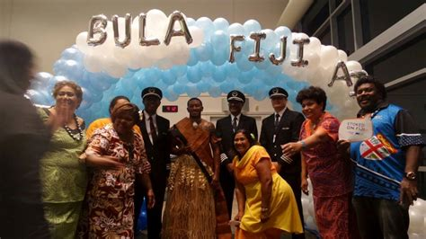 Fiji Airways Cabin Crew by Fiji Airways Makes San Francisco Its Third Us Service