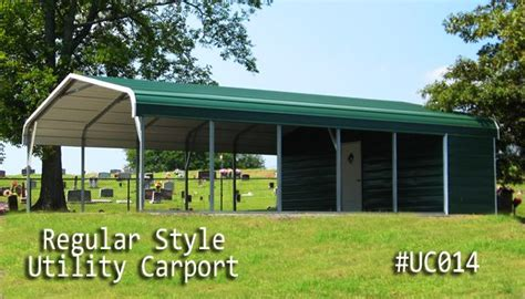 Coast To Coast Car Ports by Metal Utility Carports Are Like A Carport And A Shed In One