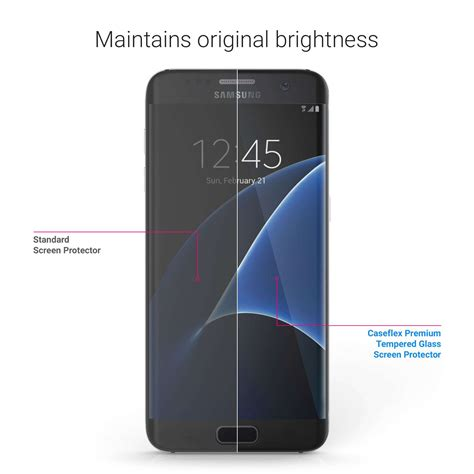 Screen Guard S7 Edge Cover samsung galaxy s7 edge glass screen protector gifts spicy jam gift shop