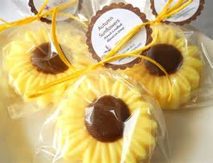 Sunflower Favors by Sunflower Soap Favors