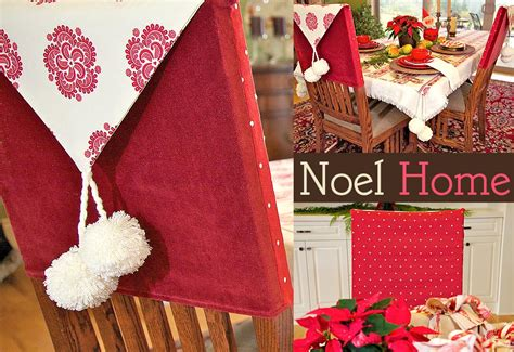 noel home classic chair back covers sew4home