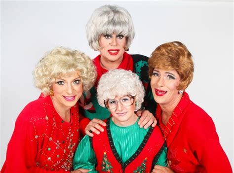 Where Did The Golden Girls Live dorothy and sophia and blanche and rose say merry xmas