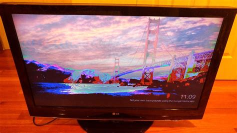 fix  repair lg lh lcd tv solarization
