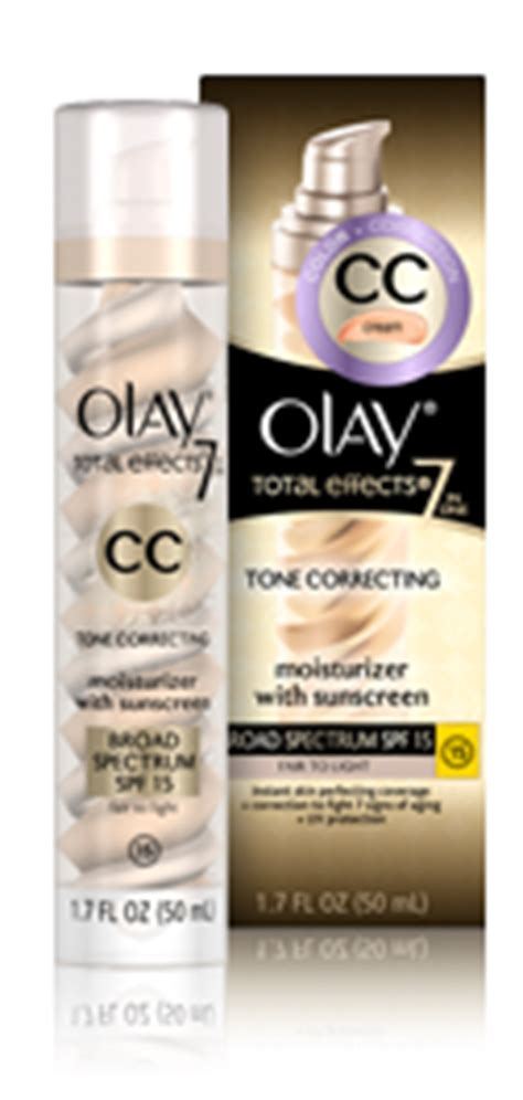 of olay cc fair to light olay total effects cc creams cosmetoscope
