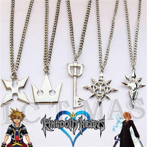 set kingdom hearts sora roxas axel vexen crown cross