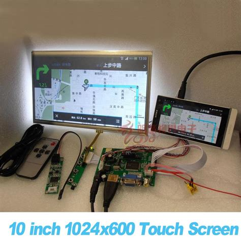 Lcd Touchscreen 3 aliexpress buy all new 10 inch 1024 600 raspberry pi 3 lcd touch screen kit backing auto