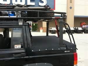 Zj Interior Cut Off The Back Incorporated Roof Rack Jeep Cherokee