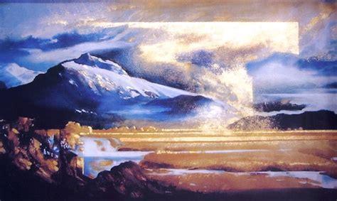 Landscape Paintings New Zealand Harold Coop New Zealand Landscape Paintings And
