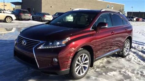 red lexus 2015 new red on parchment 2015 lexus rx 350 awd sportdesign