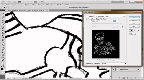 lineart tutorial photoshop cs5 tutorial how to vectorize lineart in photoshop cs5 youtube