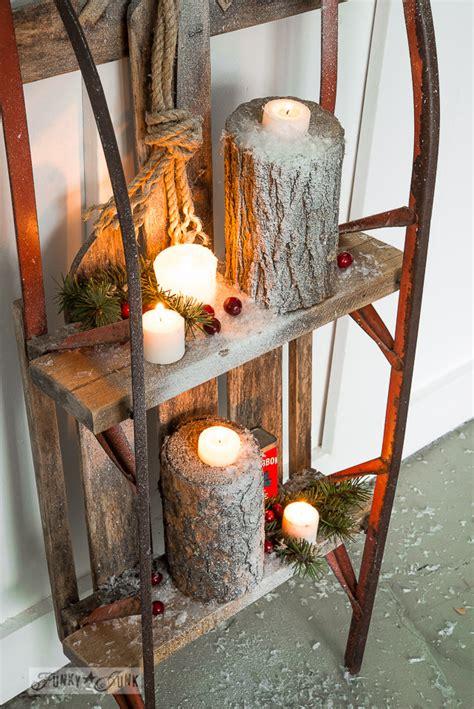 alten schlitten dekorieren 2 junkers unite with a snow sleigh shelffunky