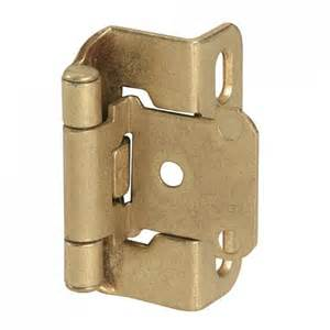 Self Closing Kitchen Cabinet Hinges by Self Closing Partial Wrap Cabinet Hinge 1 2 Quot Overlay