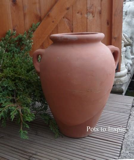 Terracotta Garden Decor Terracotta Decor Garden Urn With Handles Woodside Garden Centre Pots To Inspire