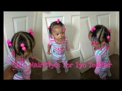 cute hairstyle for a 1 year old quick hairstyle for 1 year old toddler simple and cute