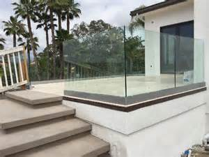 tempered glass railing rancho santa fe patriot glass