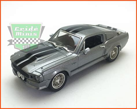 Greenlight 1 24 Eleanor 67 Custom Mustang greenlight mustang custom eleanor 1967 caixa de acr 237 lico