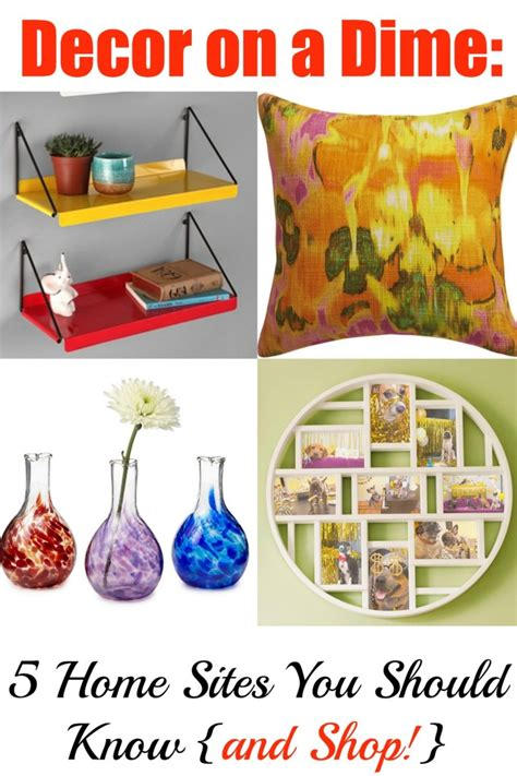 home decor on a dime affordable sites for home goods looking fly on a dime