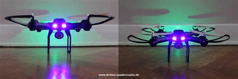 quadrocopter led beleuchtung h28c quadrocopter drohne gearbest so sieht der copter