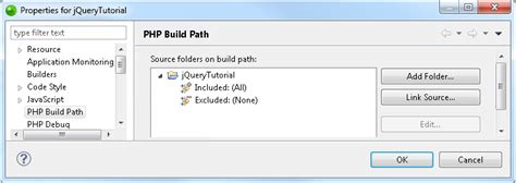 zend layout path configuring a project s php build path zend studio 13 6