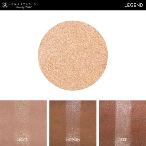 Eyeshadow Abh eye shadow singles with skin swatch in the shade legend eye shadow singles