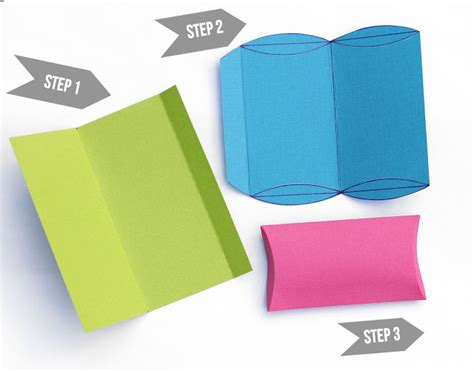 Pillow Box Template For Gift Card by Lines Across Make Your Own Pillow Boxes