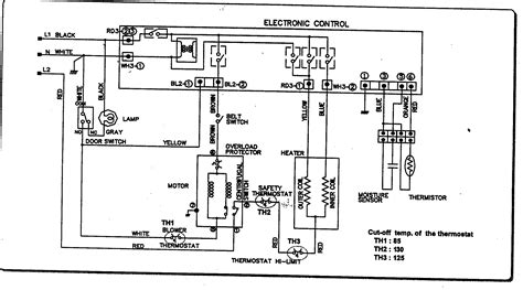 lg electric clothes dryer electrical diagram electric free